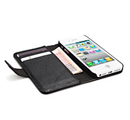 Lychee Genuine PU Leather Case for iphone 5/5s,Lether Case for Iphone 5s,Cellphone Case