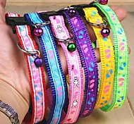 Cat / Dog Collars Rainbow Textile
