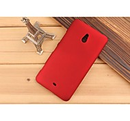 For Nokia Case Frosted Case Back Cover Case Solid Color Hard PC Nokia Nokia Lumia 1320