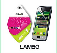utilizar japón nano mascota materiales curvados protectores de pantalla de cine para i9000 samsung galaxy s1 (Lambo)