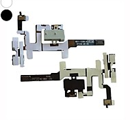 Reposición de volumen de audio jack de 5 x auriculares flex cable para el iphone 4s (colores surtidos)