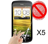 Matte Screen Protector for HTC One S (5 PCS)