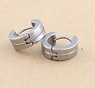 Fashion Stainless Steel  Earrings Random Color