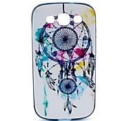 2-in-1-Traum Glocke Muster TPU rückseitige Abdeckung mit pc autostoßfest weiche Tasche für Samsung Galaxy Ace 4 g313h