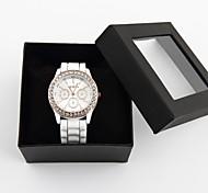 relógio de estilo de moda casual mulheres elegantes personalizados
