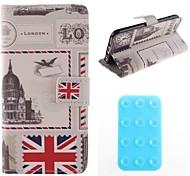 bandiera nazionale pu copertura corpo caso di novità con il basamento e duplex tappetino antiscivolo per iPhone 6