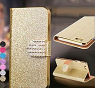 DF® Glitter Pattern with Diamond Buckle Full Body Case for iPhone 6 (Assorted Colors)