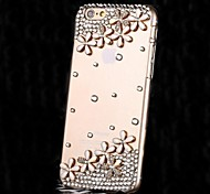 LUXURY Diamonds Crystal Flowers Back Cover Case for iPhone 6