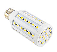E26/E27 12 W 60 SMD 5050 800 LM Warm White T Corn Bulbs AC 220-240 V