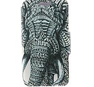 Для Кейс для Nokia Бумажник для карт / Флип Кейс для Чехол Кейс для Слон Твердый Искусственная кожа Nokia Nokia Lumia 630