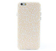 Hearts Style Litchi Grain Hard Back Case for iPhone 6