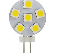JUXIANG Dekorativ Spot Lampen G4 2 W 200 LM 6000-6500 K 6 SMD 5050 Kühles Weiß DC 12 V
