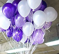 10 Inches 2.2g Pearly Balloon - 100 pcs (More Colors)