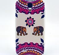 Sonnenblumen Elefanten tpu weiche Tasche für Samsung Galaxy S4 i9500