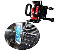 Swivel Car Mount Vehicle Air Vent Holder Cradle for iPhone 4/5/6 Plus All Phones