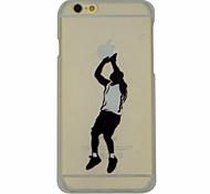 баскетбол серия съемки картины ПК жесткие прозрачной задней крышки корпуса для Iphone 6