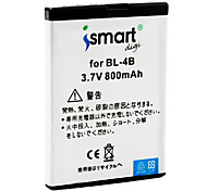 Ismart 800mAh Battery for Nokia 7070 Prism, 7370, 7373, 7500 prism, N76