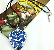 Jewelry Inspired by The Legend of Zelda Cosplay Anime/ Video Games Cosplay Accessories Necklace Blue Alloy Male