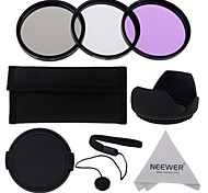 neewer® 58mm UV + CPL + FLD Filter Kit-Set für Canon EOS Rebel