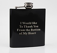 Personalized Gift  Black Paint 6 oz  Blessing