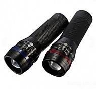 LT-26067 3Mode 1*XPE  Adjustable Focus Zoom LED  Flashlight (200LM.3XAAA.Black)