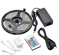 27W  150x5050 SMD RGB LED1800LM Colorful Light Flexible Strip (5-Meter/DC 12V)