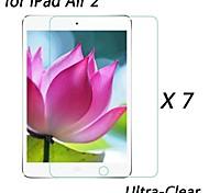 [7-pack] professionelle hohe Transparenz lcd Kristall Ultra-Clear Displayschutzfolie für iPad 2 Luft