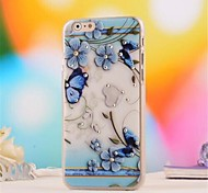 3 D Set Auger   Pattern PC Soft Cover for iPhone 6