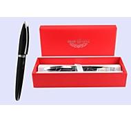 HERO  1068  Silver and Black Ink Pen(1 Pen)