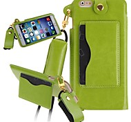 KARZEA™ Luxury Slim PU Leather Carrying Protective Case with Stand and Stylus for iPhone 6 Plus (Assorted Colors)
