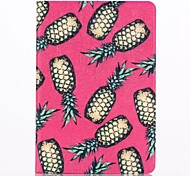 Pineapple Pattern PU Leather Full Body Case with Stand  for iPad Mini 1/2/3