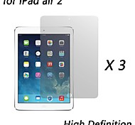 [3-Pack] Premium High Definition Clear Screen Protectors for iPad air 2
