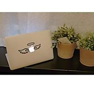 skinat extraíble bricolaje ángel lindo divertido con la tableta de ala y etiqueta engomada del ordenador portátil para que la tableta y el MacBook Air