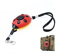 Beetle Style 120dB Emergency Self-defending Alarm Keychain