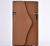 Wallet PU Leather Full Body Case with Stand for SAMSUNG GALAXY Note 3 N9000(Assorted Colors)