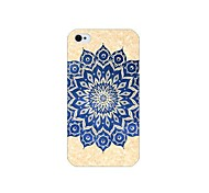 Retro Pattern Back Case for iPhone 4/4S