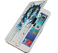 Paint the Wolf Magnetic Flip Full Body Case with Hole for iPhone 6