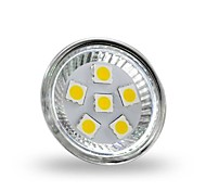 2W GU4(MR11) LED Spotlight MR11 6 SMD 5050 200 lm Warm White Decorative DC 12 V