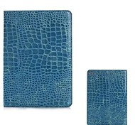 Crocodile Skin Pattern Full Body Leather Case with Stand for iPad Air 2  (Assorted Colors)