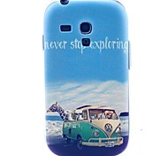 Animal Travel Pattern Soft Case for Samsung Galaxy S3 Mini I8190
