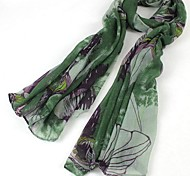 Women Cotton Blend Scarf,Work / Casual