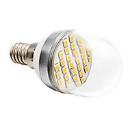 Bombillas LED de Globo E14 4W 30 SMD 2835 280 LM Blanco Cálido AC 100-240 V