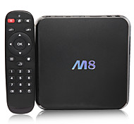 Amlogic M8 Mini PC Quad Core Android TV Box Android 4.4 KiKat Cortex A9 2GB di RAM 8GB 4K Video Bluetooth HDMI WiFi Media Player