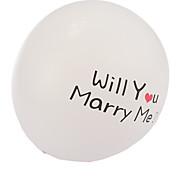 tamanho extra grande brancas proposta de união de espessura balões redondos - conjunto de 24