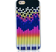 Music Frequency Pattern Hard Back Case for iPhone 6
