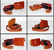 pajiatu pu appareil photo en cuir étui de protection Housse pour Canon Powershot hs de SX700