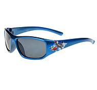 100% UV400 Kids' Rectangle Plastic Fashion Sunglasses