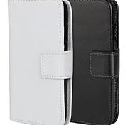 Einfarbig PU-Leder Ganzkörper-Case mit Ständer und Card Slot für Samsung Galaxy Ace 4 g313h (farblich sortiert)