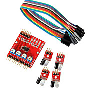 4 -Way Infrared Tracing / Tracking Module / Transmission Line Modules / Obstacle Avoidance / Car / Robot Sensors for Arduino