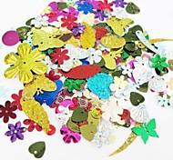1 juego Brillante,Multicolor